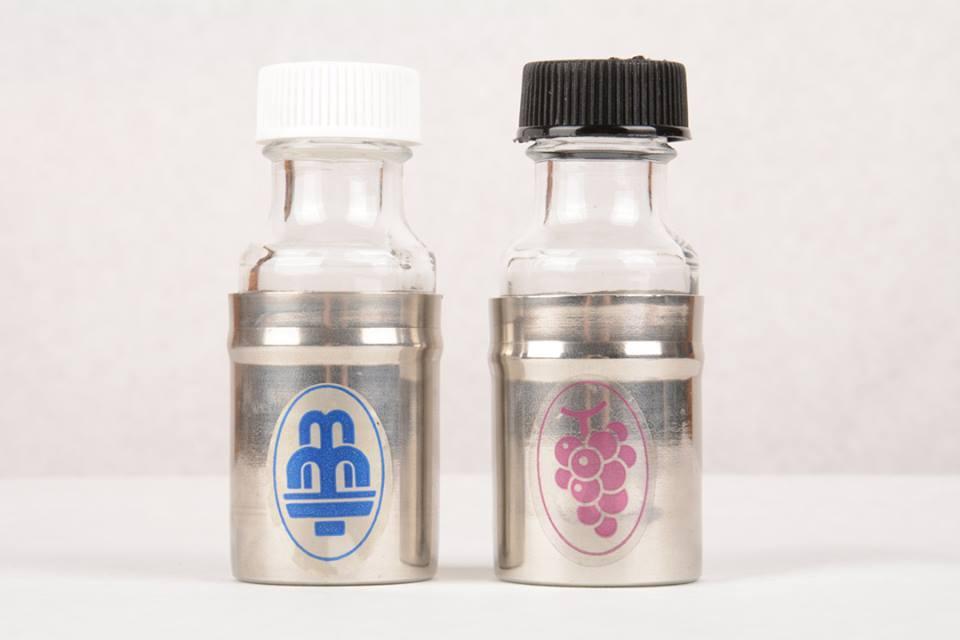 Coppia bottigliette acqua e vino CAL846