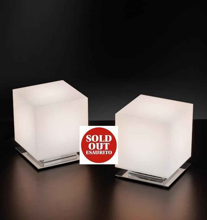 ENIGMA luce comodino cromo 13x11   LED