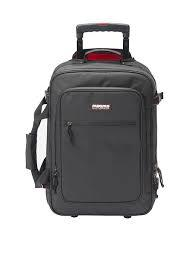 MAGMA BORSA TROLLEY RIOT BLACK RED