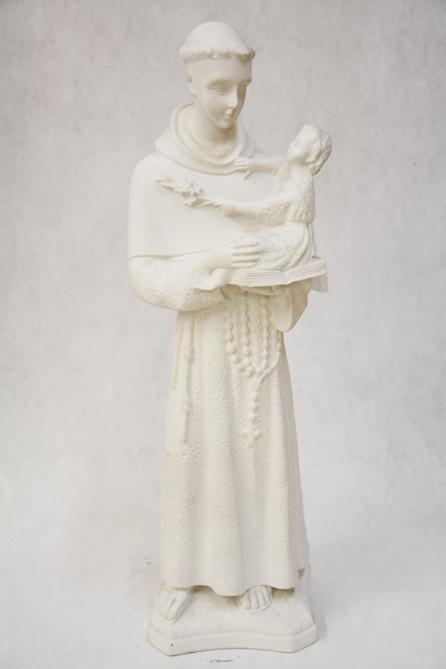 Statua Sant'Antonio in polvere di marmo DEC38-60