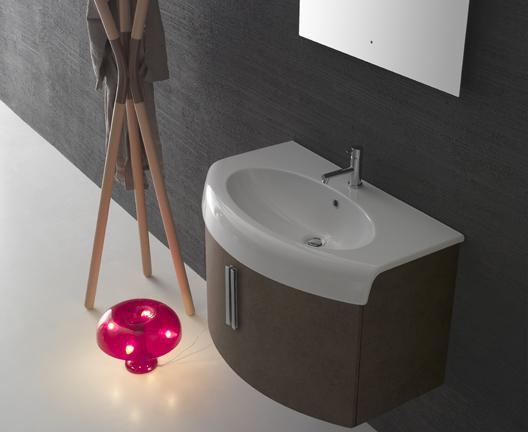 Mobile da bagno con lavabo cm bowl globo