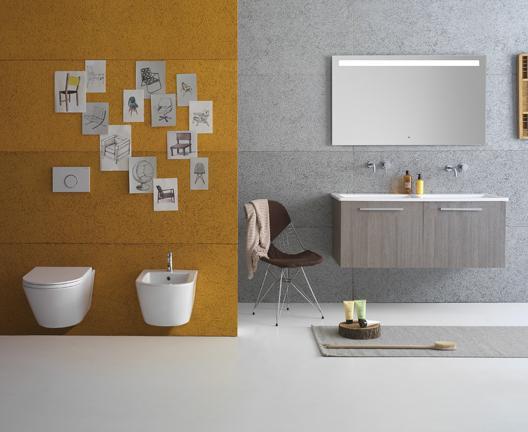 Mobile per il bagno cm 125 Forty3 Globo
