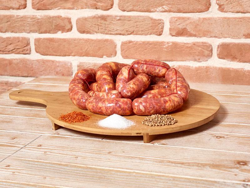 Salsiccia fresca al coriandolo – Conf. da 500 gr