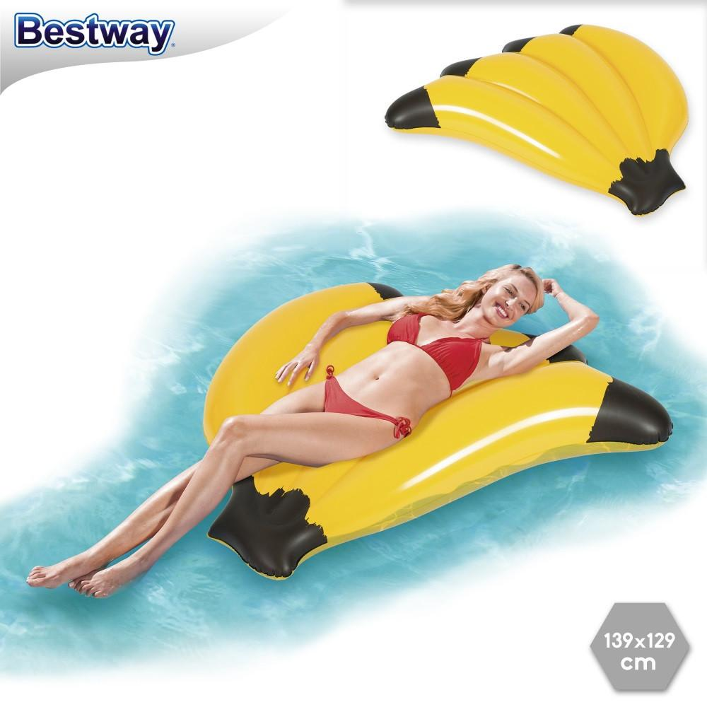 MATERASSINO BANANA CM. 139X129 43160 BESTWAY EUROPE