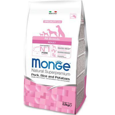 MONGE ALL BREEDS CANE ADULT MONOPROTEICO MAIALE RISO E PATATE