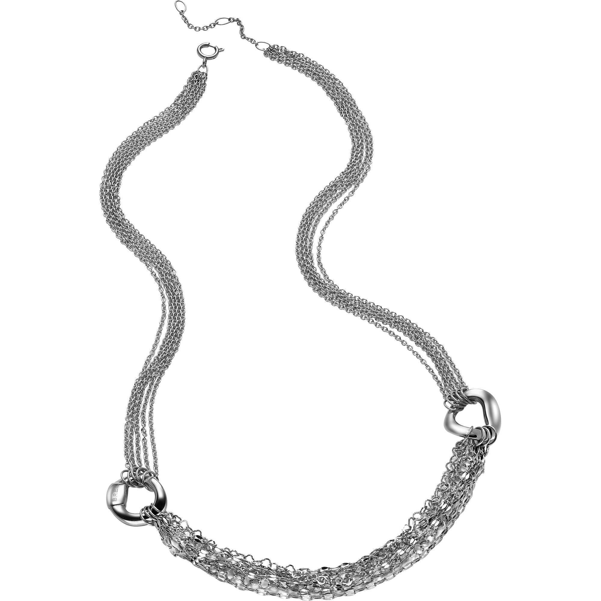 BREIL-Collana da donna in acciaio