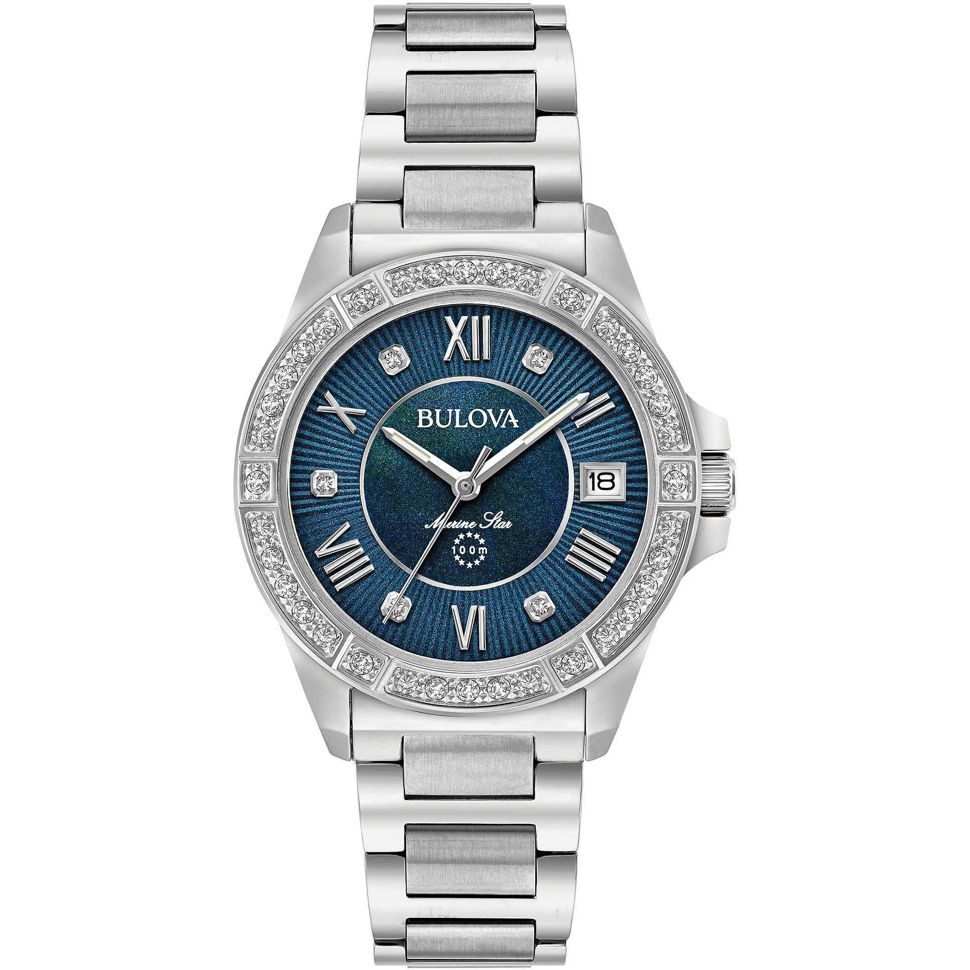 BULOVA-Marine Star orologio da donna con diamanti