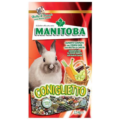 Mangime per Coniglietto Manitoba 2,5 kg