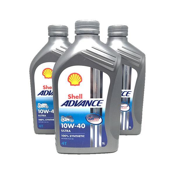 Shell Advance 4T Ultra 10w/40 3x1 litro