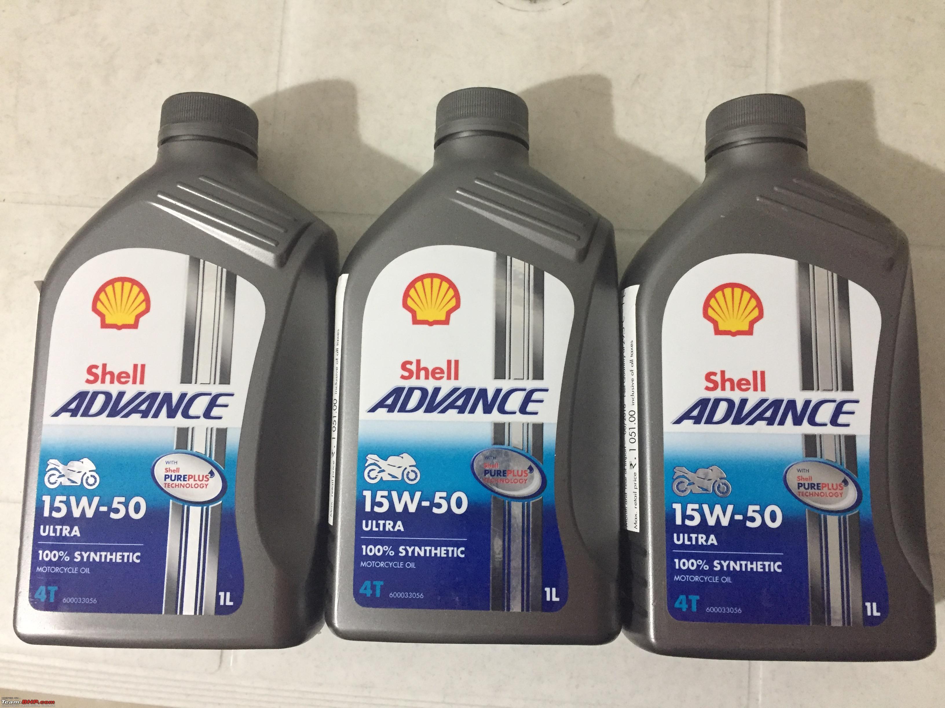 Shell Advance 4T Ultra 15w/50  3x1 litro