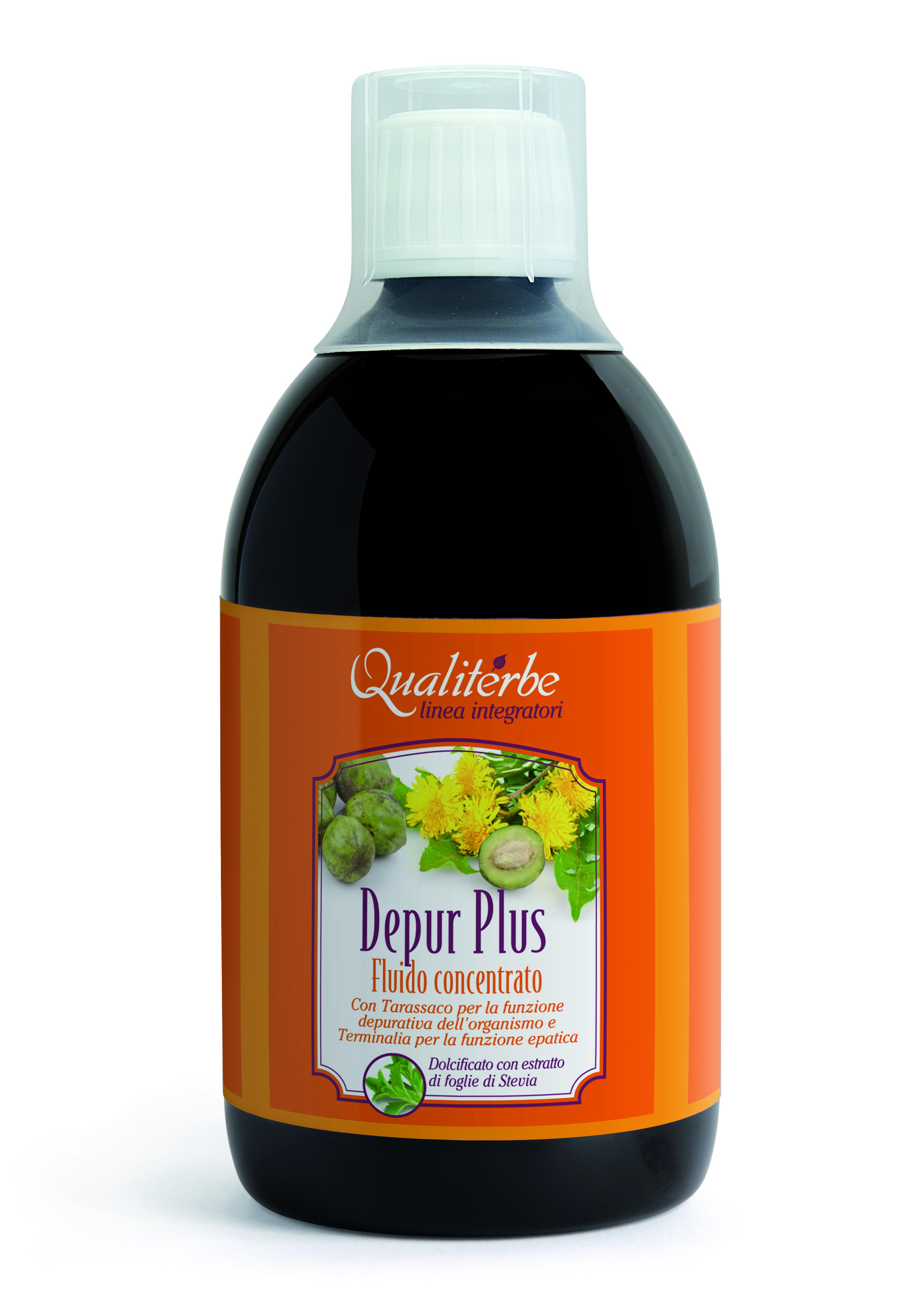 DEPUR PLUS (VeganOk) Depurativo analcolico in Fluido concentrato 500 ml