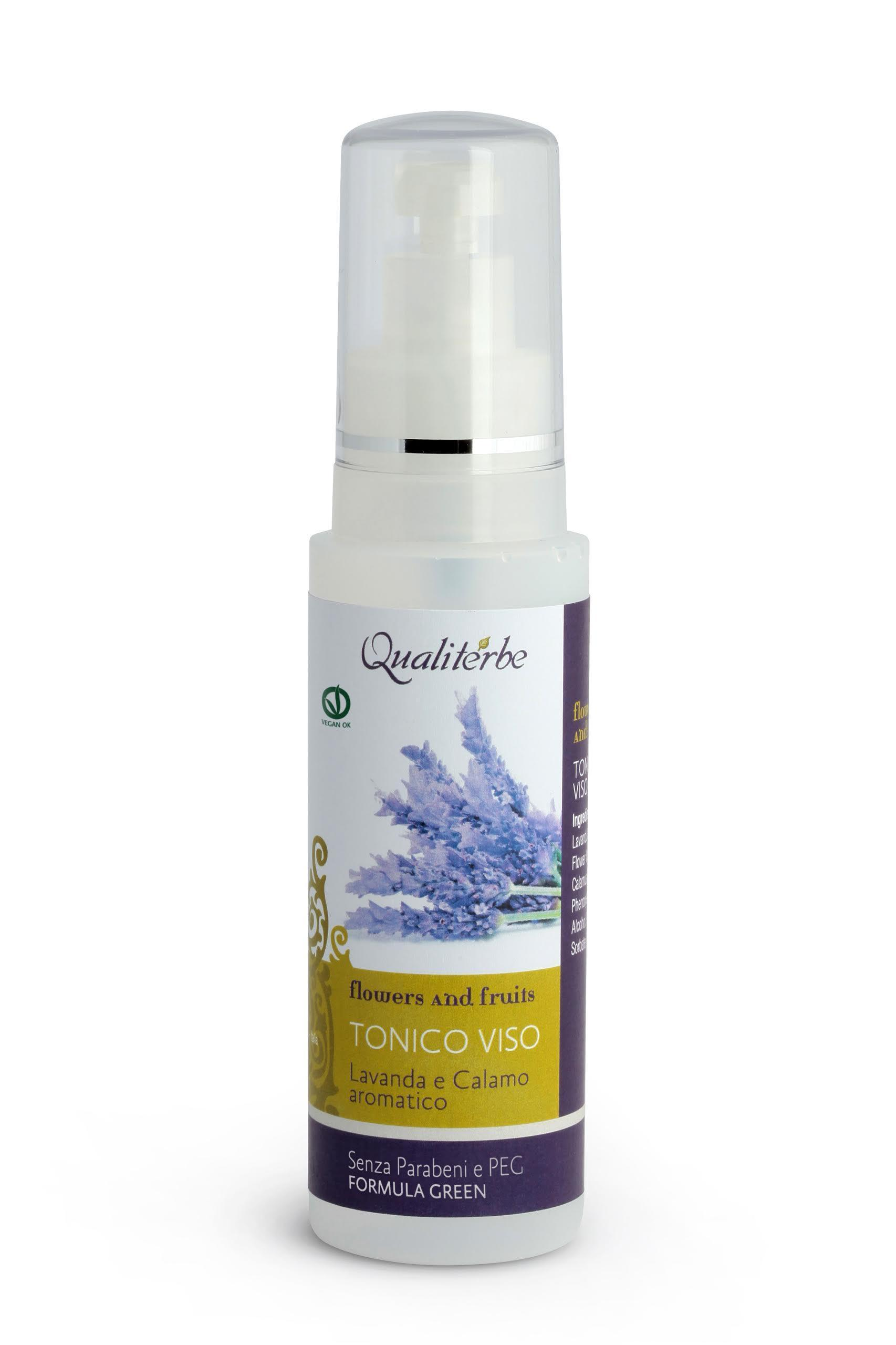 Tonico Viso 125 ml - Linea Flowers and Fruits - (Vegan ok, no Parabeni, no PEG)