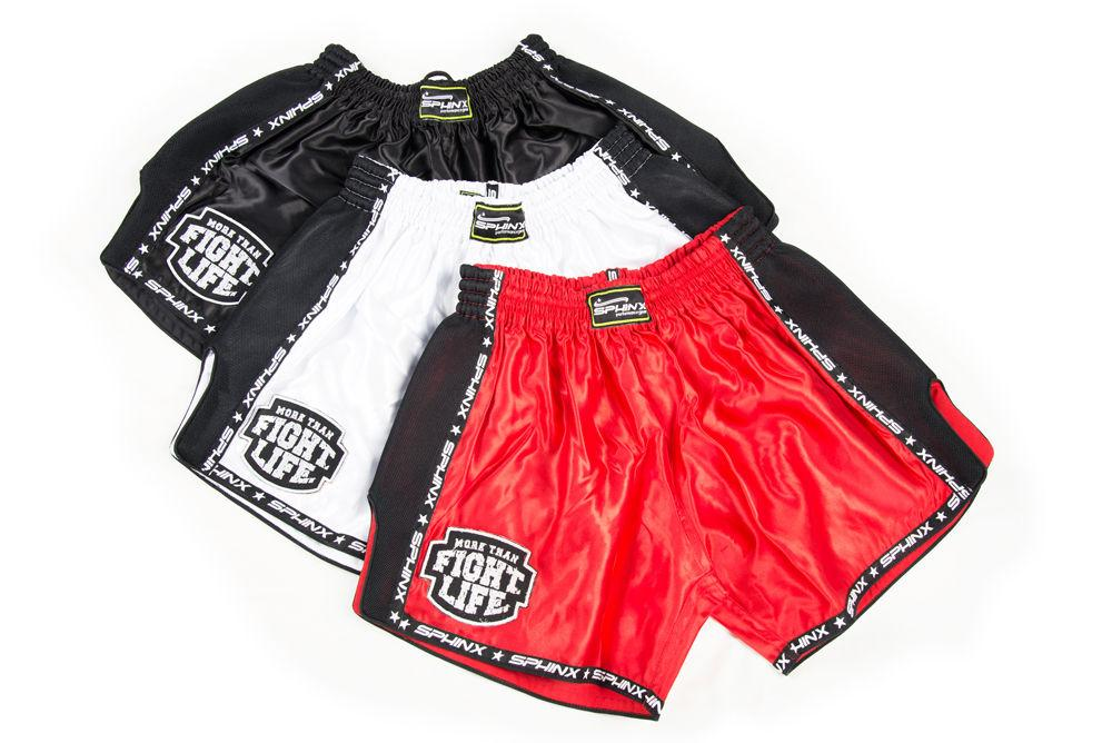 Sphinx Pantaloncini Kickboxing Muay Thai modello SLIM FIT