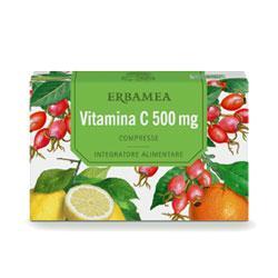Vitamina C 500 mg Erbamea