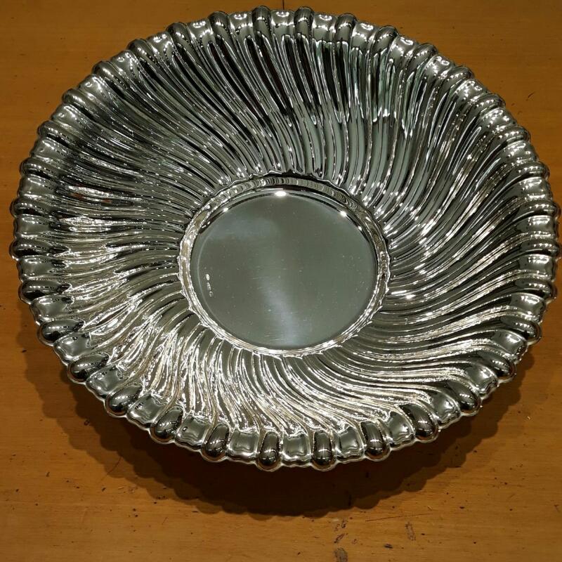 Ciotola Torcè centrotavola in argento 800 vendita on line | GIOIELLERIA BRUNI