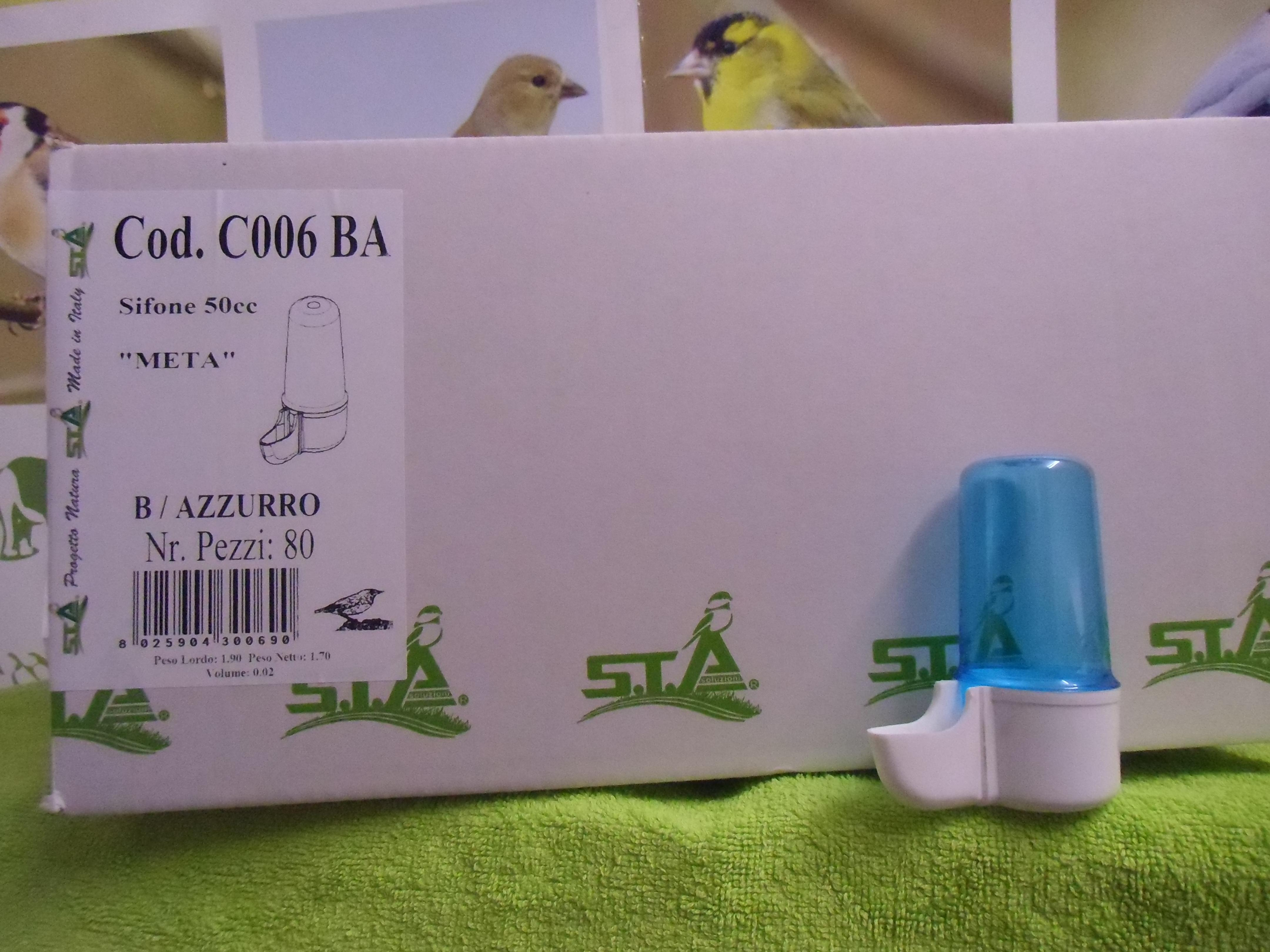 OFFERTA CARTONE INTERO SIFONE META cc.50 (80 beverini)