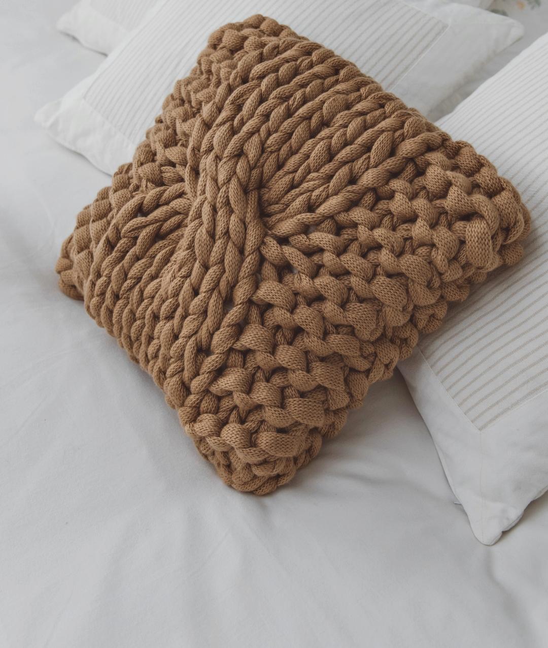 94a04225b9c XXL Pillow  Arm e Giant Knitting kit for Blanket online + Pattern ...