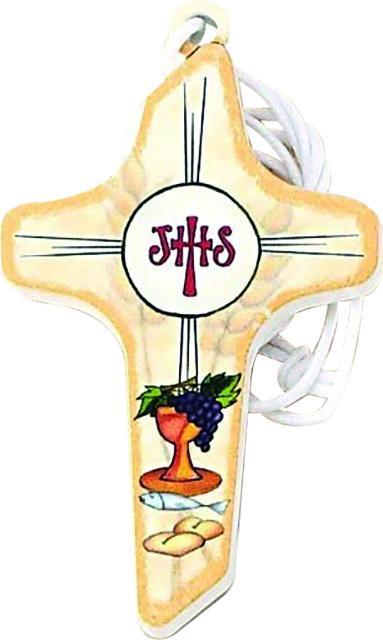 Croce comunione in legno cm. 7,5
