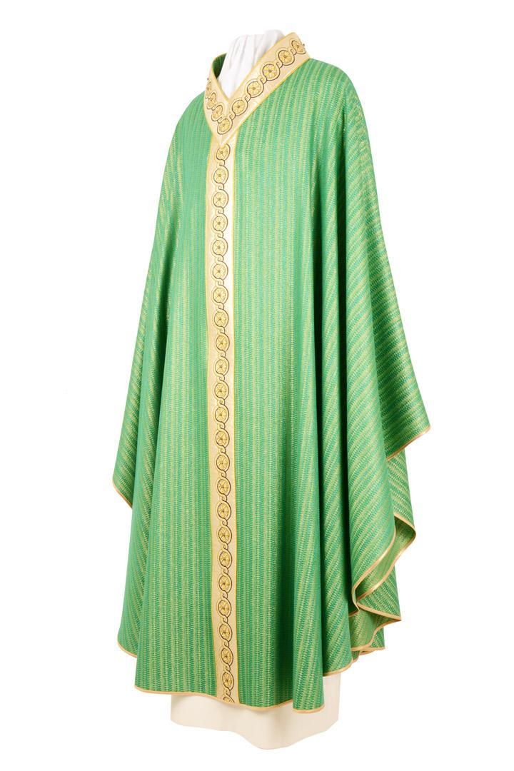 Casula C189A Verde lana viscosa