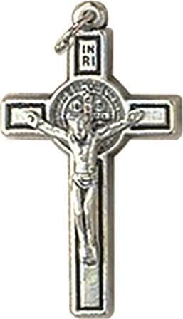 Croce metallo S. Benedetto cm. 4