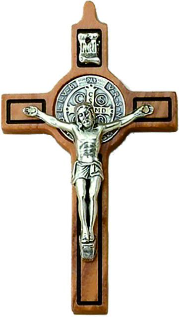 Croce in ulivo S. Benedetto con laccio