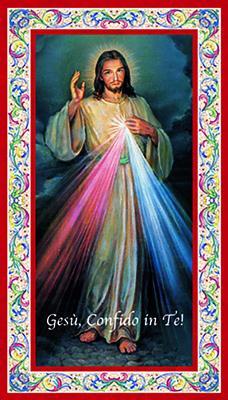 Immagine Gesù Misericordioso (100 pz)