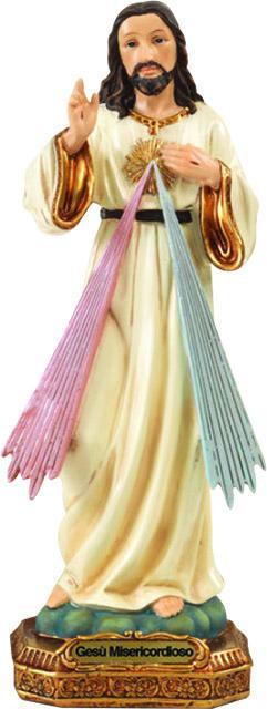 Statua Misericordioso cm. 20