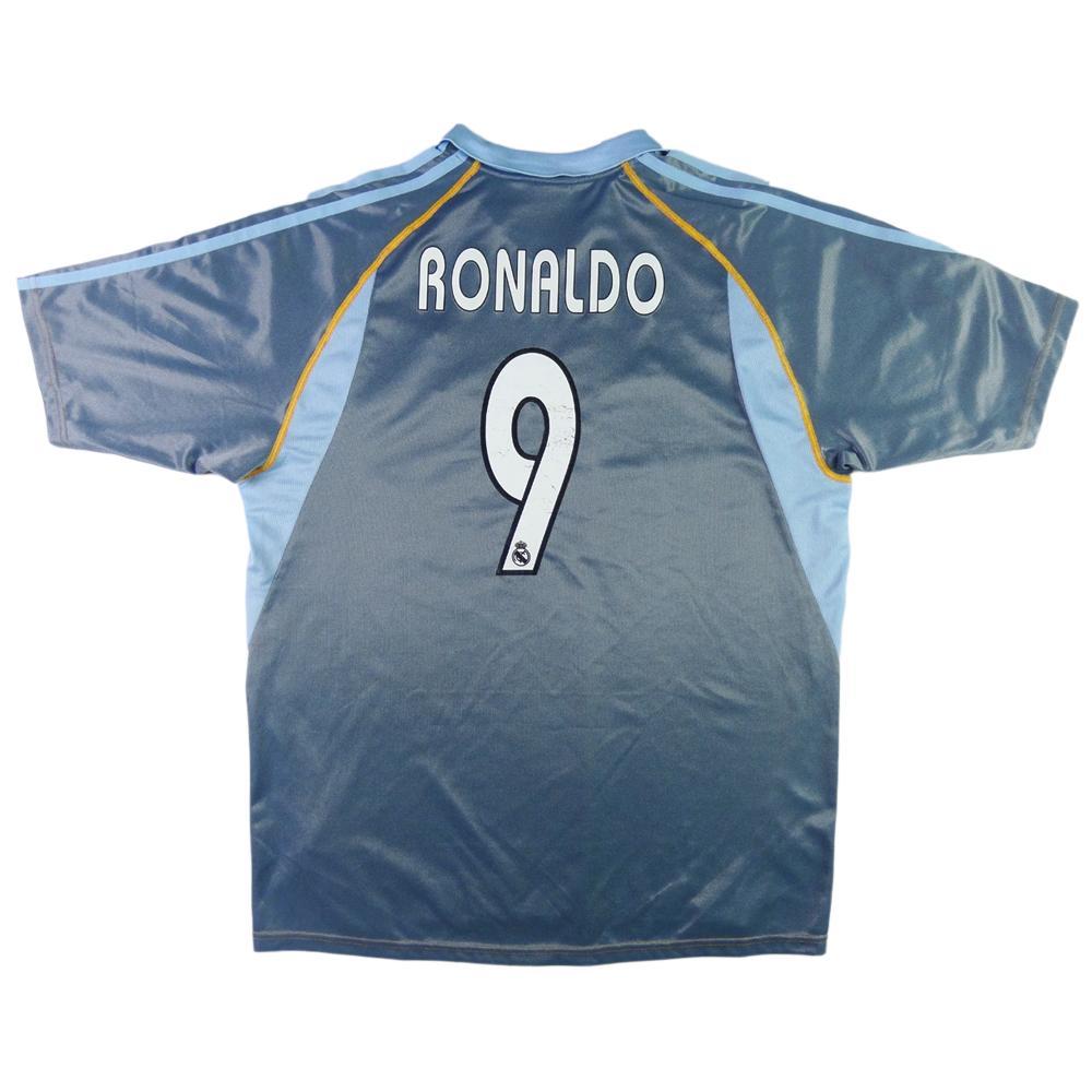 2003-04 Real Madrid Maglia #9 Ronaldo Terza L