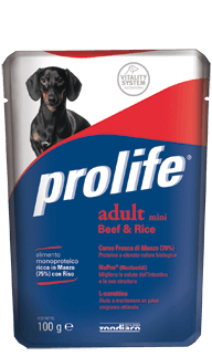 PROLIFE ADULT MINI BEEF & RICE