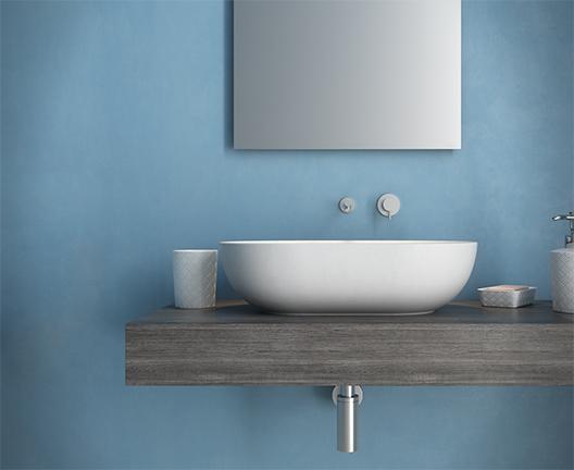 Lavabo da appoggio per il bagno cm 60 x 41 T-Edge Globo