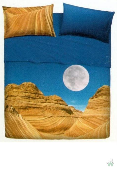 Set lenzuola Bassetti per letto singolo Deserto  Canyon una piazza