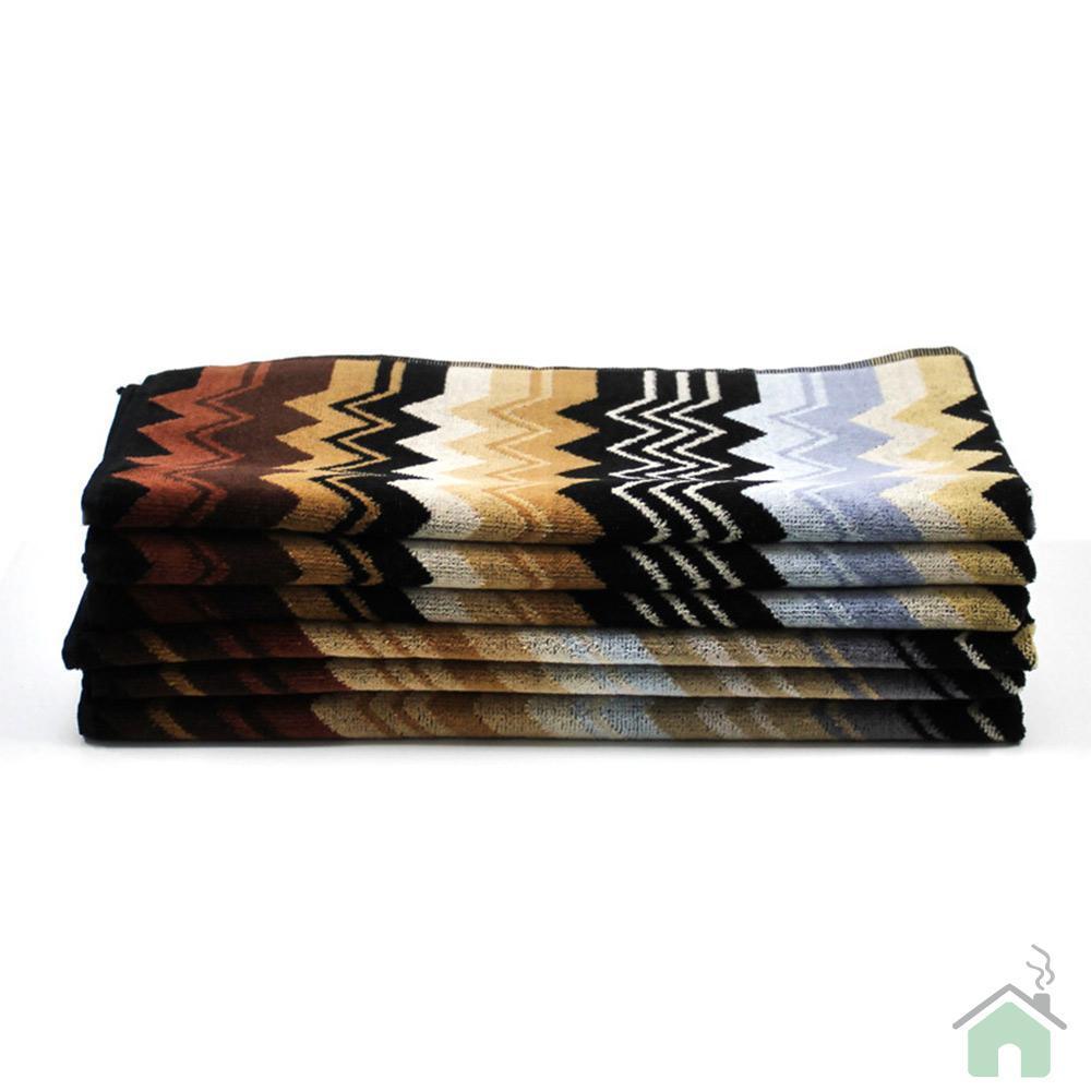 Set Asciugamani Missoni 1 asciugamano + 1 ospite GIACOMO 160 zigzag