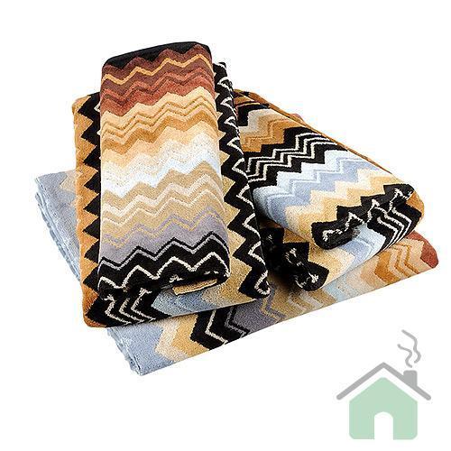 Set asciugamani Missoni Home 1  Telo + 2 asciugamani + 2 ospiti GIACOMO 160