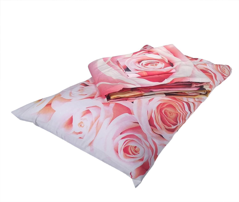 "Copripiumino matrimoniale ""Rose"" stampa fotografica by Gabel"