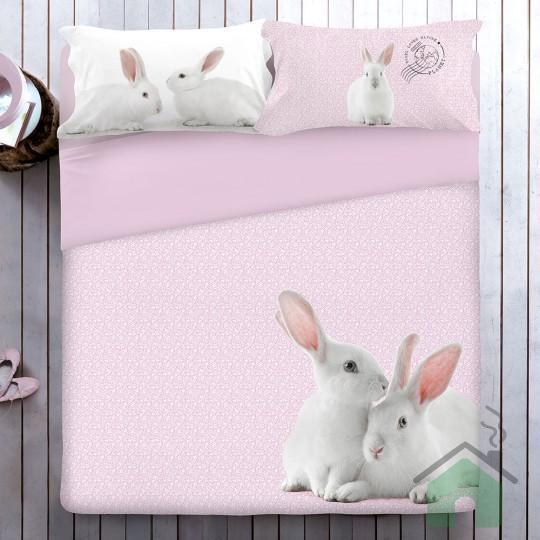 "Copripiumino matrimoniale ""Bunny"" by Gabel"