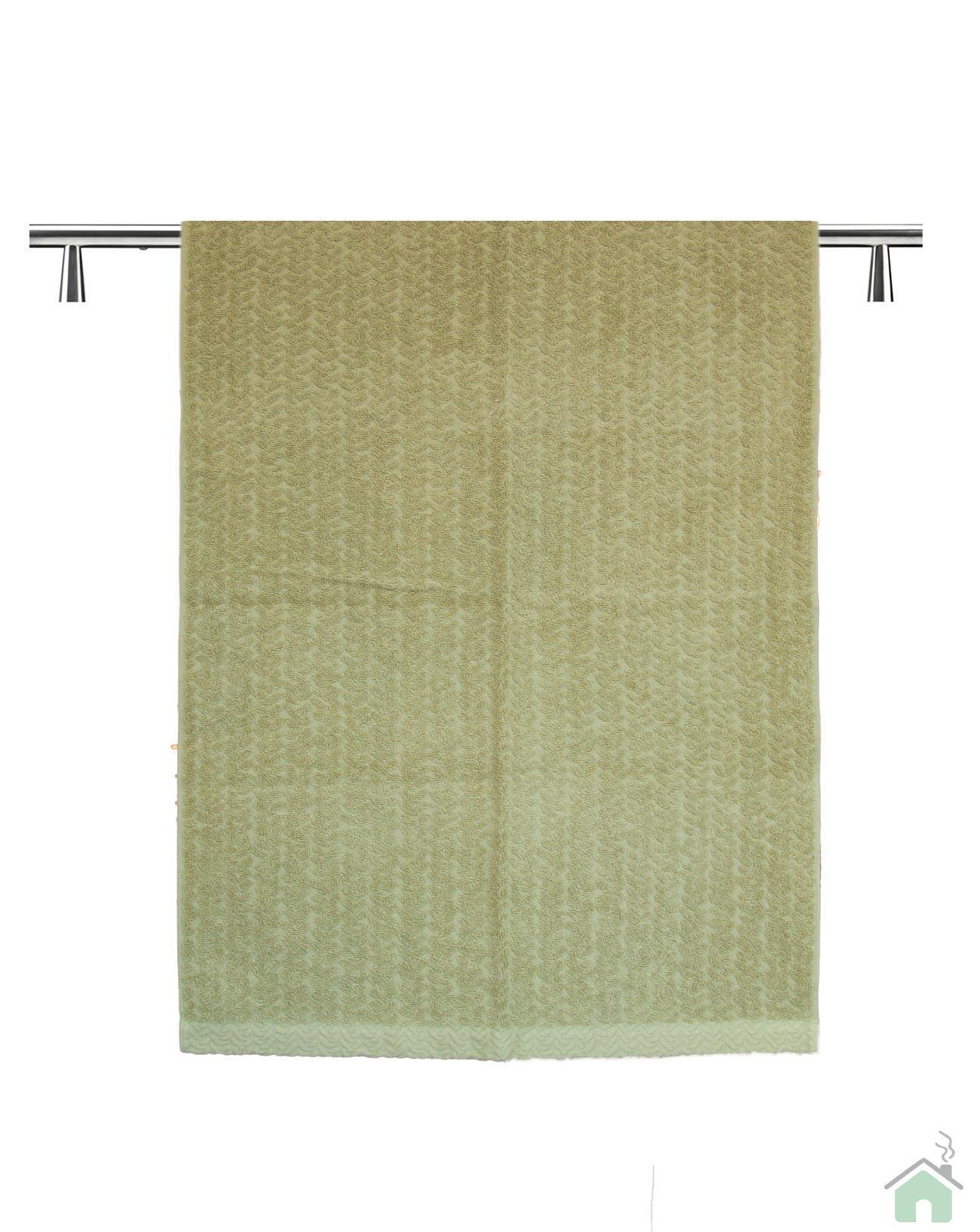Set asciugamani 1+1 Missoni Home Orio var. verde