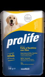 PROLIFE ADULT POLLO E TACCHINO CON RISO