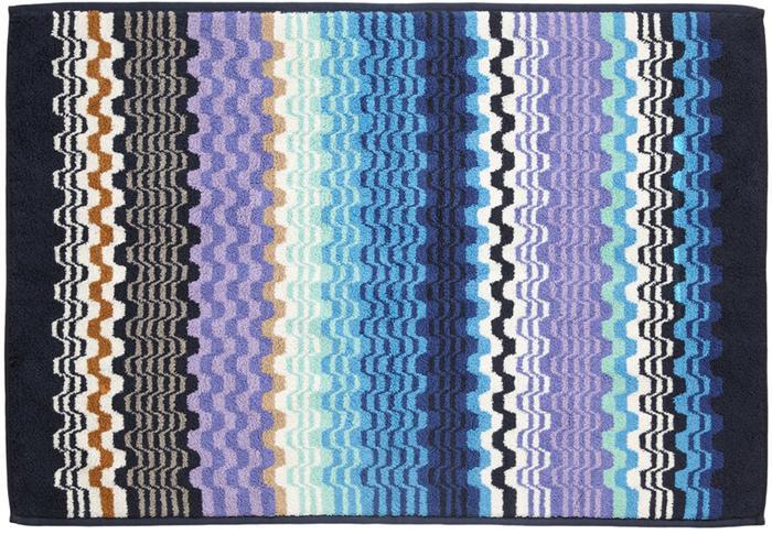 Missoni home lara 170 tappeto bagno 60x90 sui toni del blu - Missoni home tappeti ...