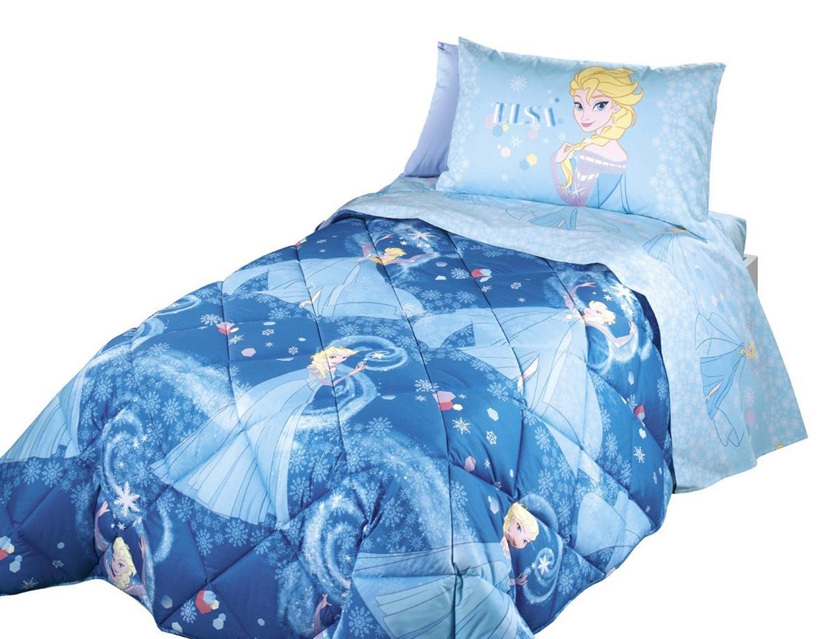 Trapunta invernale 1 piazza fcaleffi per letto singolo disney turchese - Trapunta letto singolo bambino ...