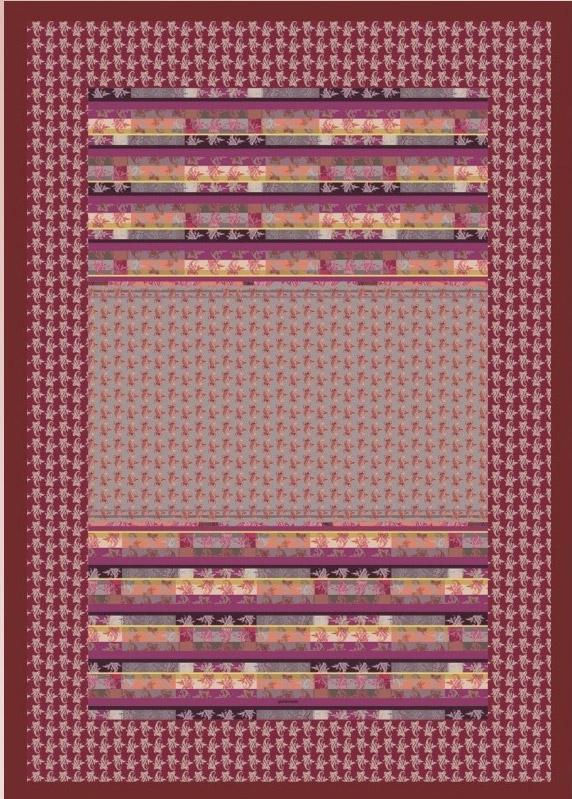 Bassetti plaid granfoulard 135x190 cm idea regalo originale for Teli decorativi