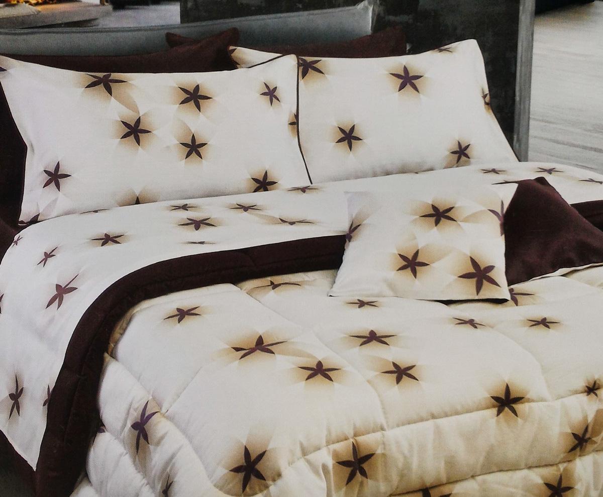 Set lenzuola per letto matrimoniale platinum satin stelle - Lenzuola per letto alla francese ...
