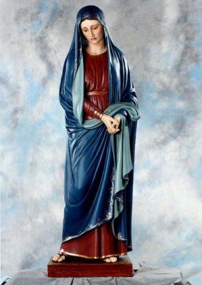 Statua dell'Addolorata in vetroresina cm.170