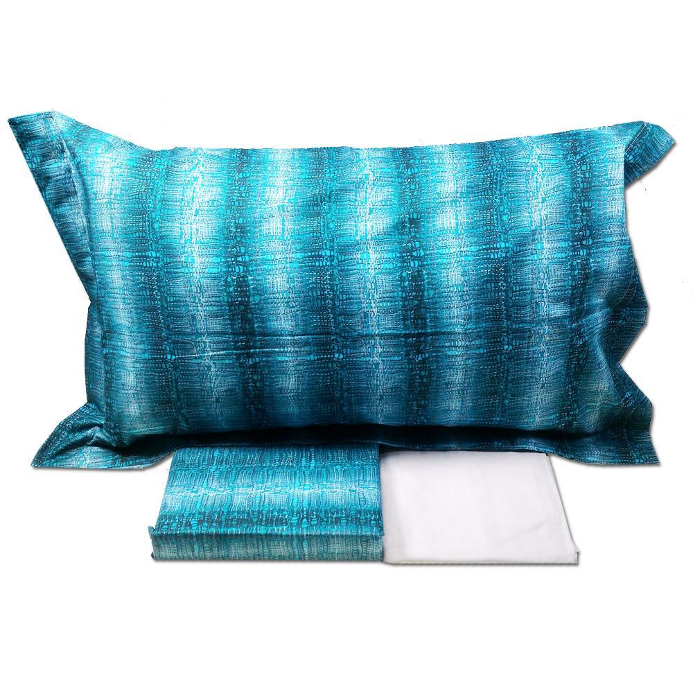 Set lenzuola matrimoniale 2 piazze mirabello percalle for Teli decorativi