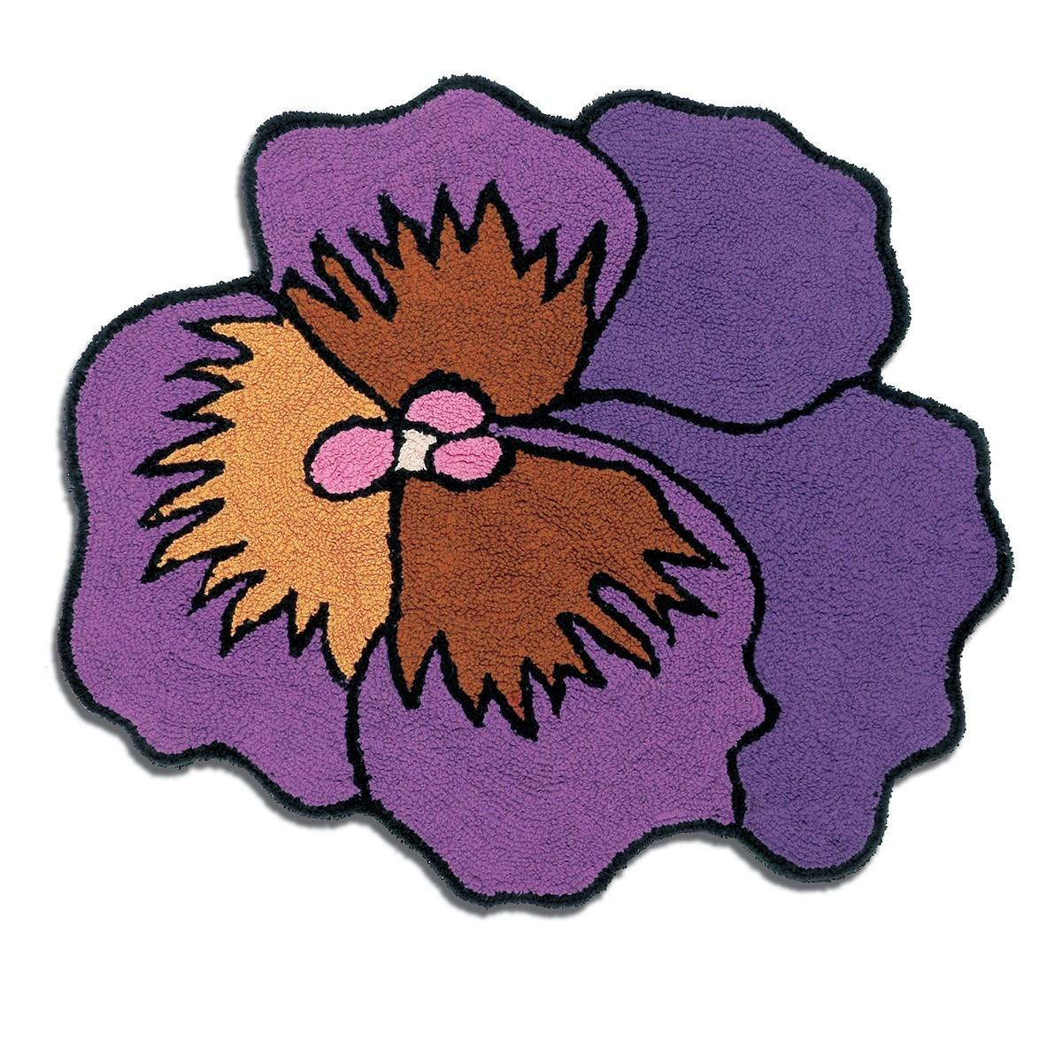 Tappeto bagno Missoni Parma Viola diametro 90 cm var. 3