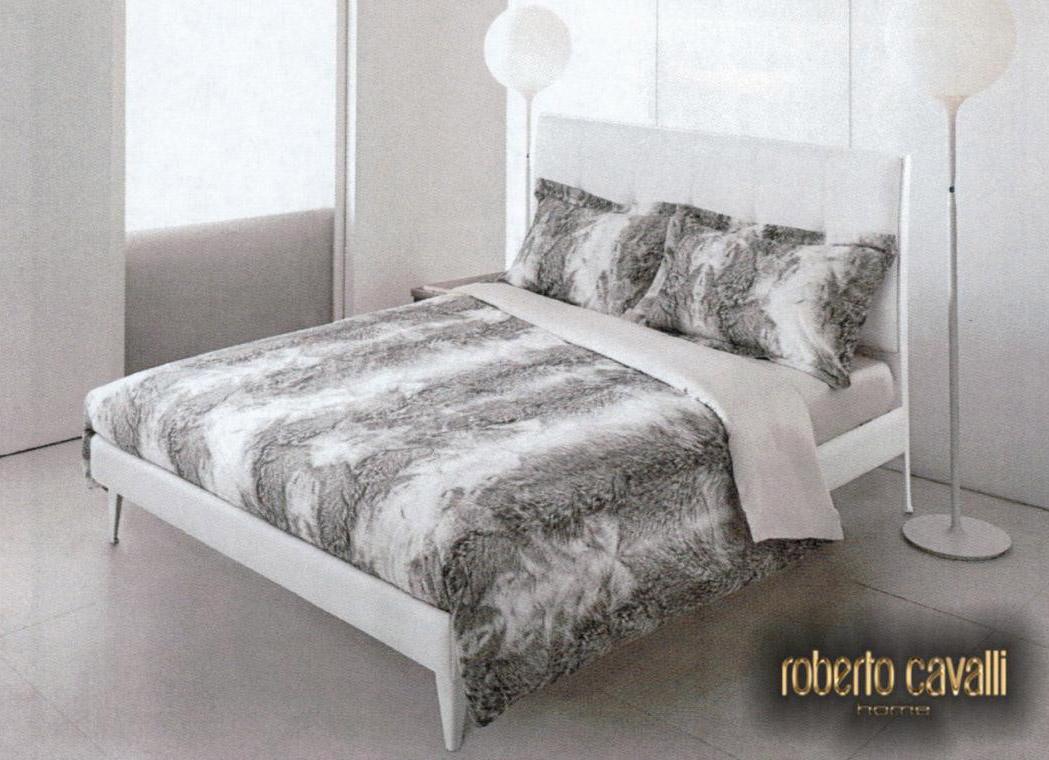 Set lenzuola roberto cavalli per letto matrimoniale raso di cotone - Set letto matrimoniale ...