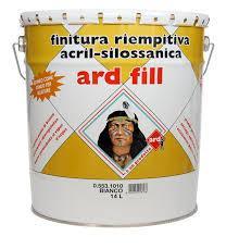 Pittura acrilsilossanica ardfill per superfici murali esterne