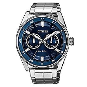orologio citizen ecodrive in acciaio bu4027-88l