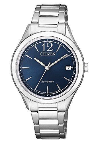 orologio donna citizen ecodrive acciaio fe6120-86l
