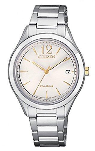 Orologio donna citizen ecodrive acciaio fe6124-85a