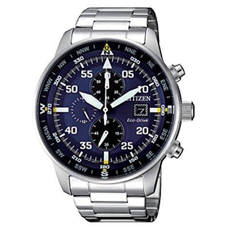 orologio uomo crono citizen ecodrive acciaio ca0690-88l